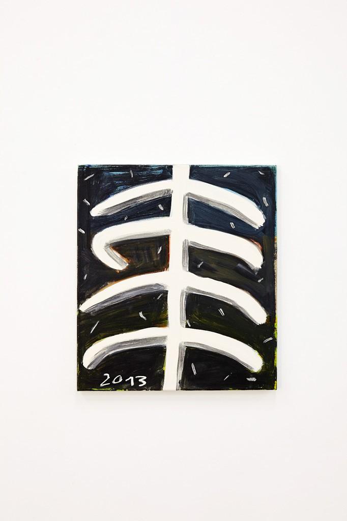 Malaise, 2013, Tempera au Leinwand, 51 x 49 cm