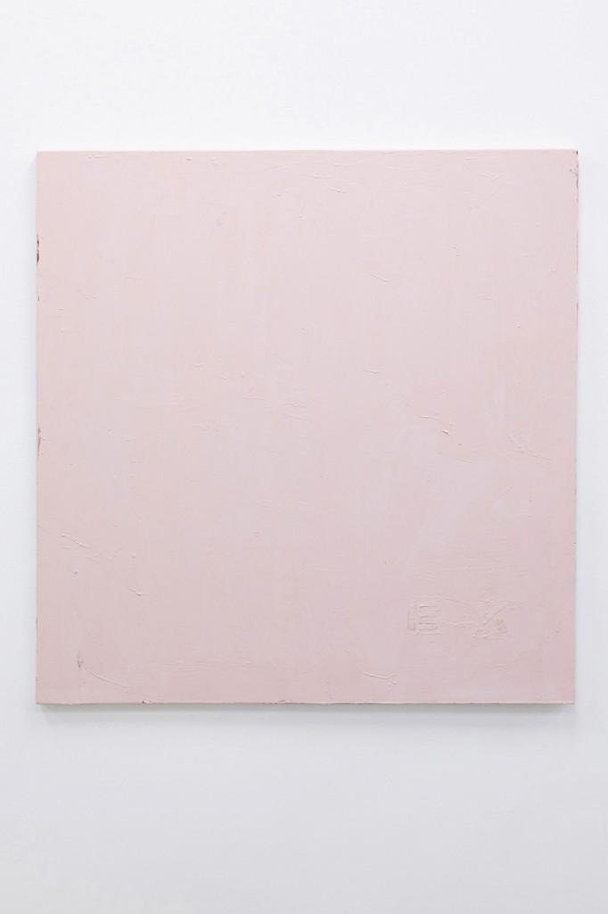 Emil Michael Klein, Ohne Titel, 2015, Wachs auf Leinwand