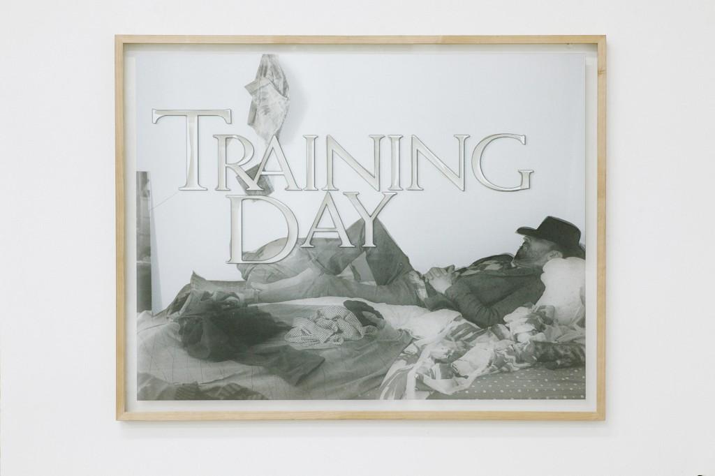 Lukas Goersmeyer, Alte Muster, screenprint on glass, 68 x 85 cm, 2015