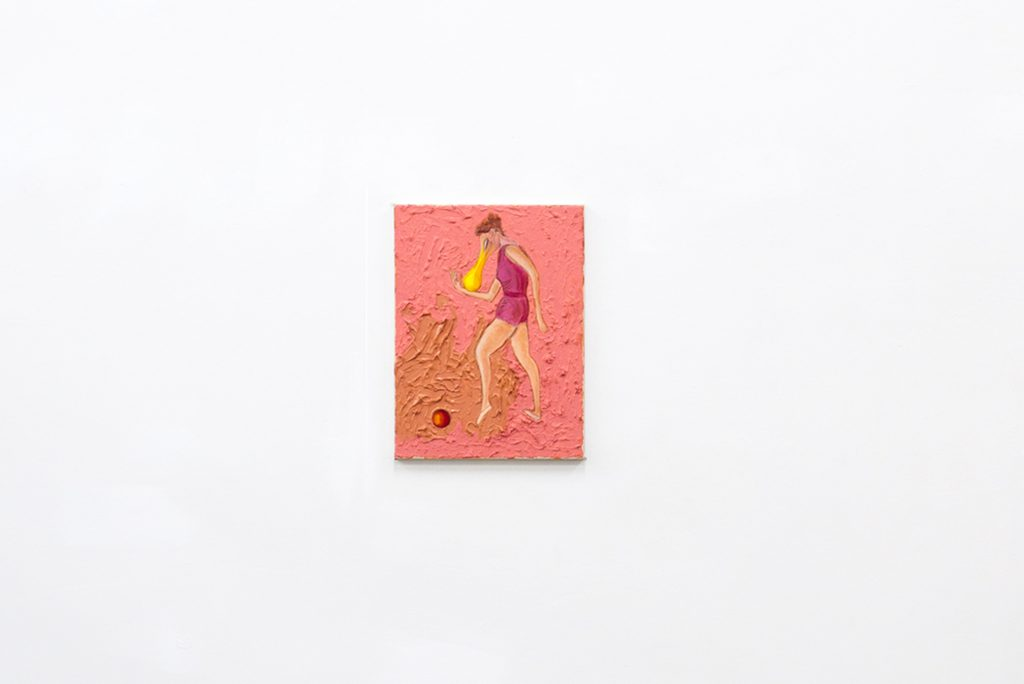 Justin Lieberman, Weißer Rabe Collage no 1, 2017
